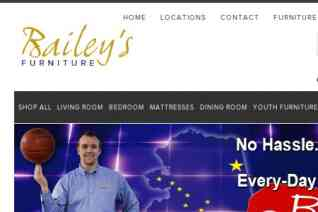 Baileys Furniture reviews and complaints
