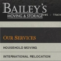 Baileys Moving and Storage reviews and complaints