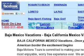 Baja Motion Tours reviews and complaints
