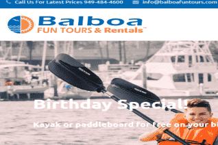 Balboa Fun Tours reviews and complaints