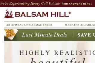 Balsam Hill Uk reviews and complaints
