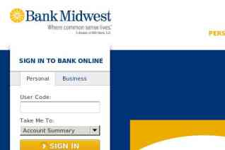 Bank Midwest reviews and complaints