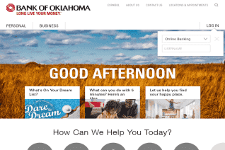 Bank Of Oklahoma reviews and complaints