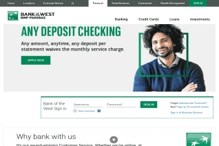 Bank of the West reviews and complaints