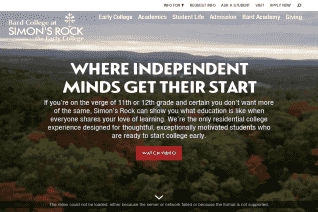 Bard College at Simons Rock reviews and complaints