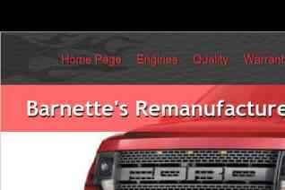 Barnettes Remanufactured Engines reviews and complaints