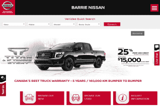 Barrie Nissan reviews and complaints