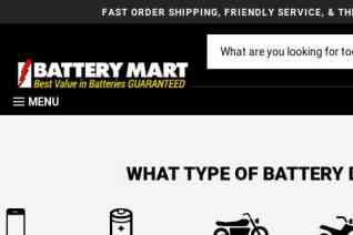 Battery Mart reviews and complaints