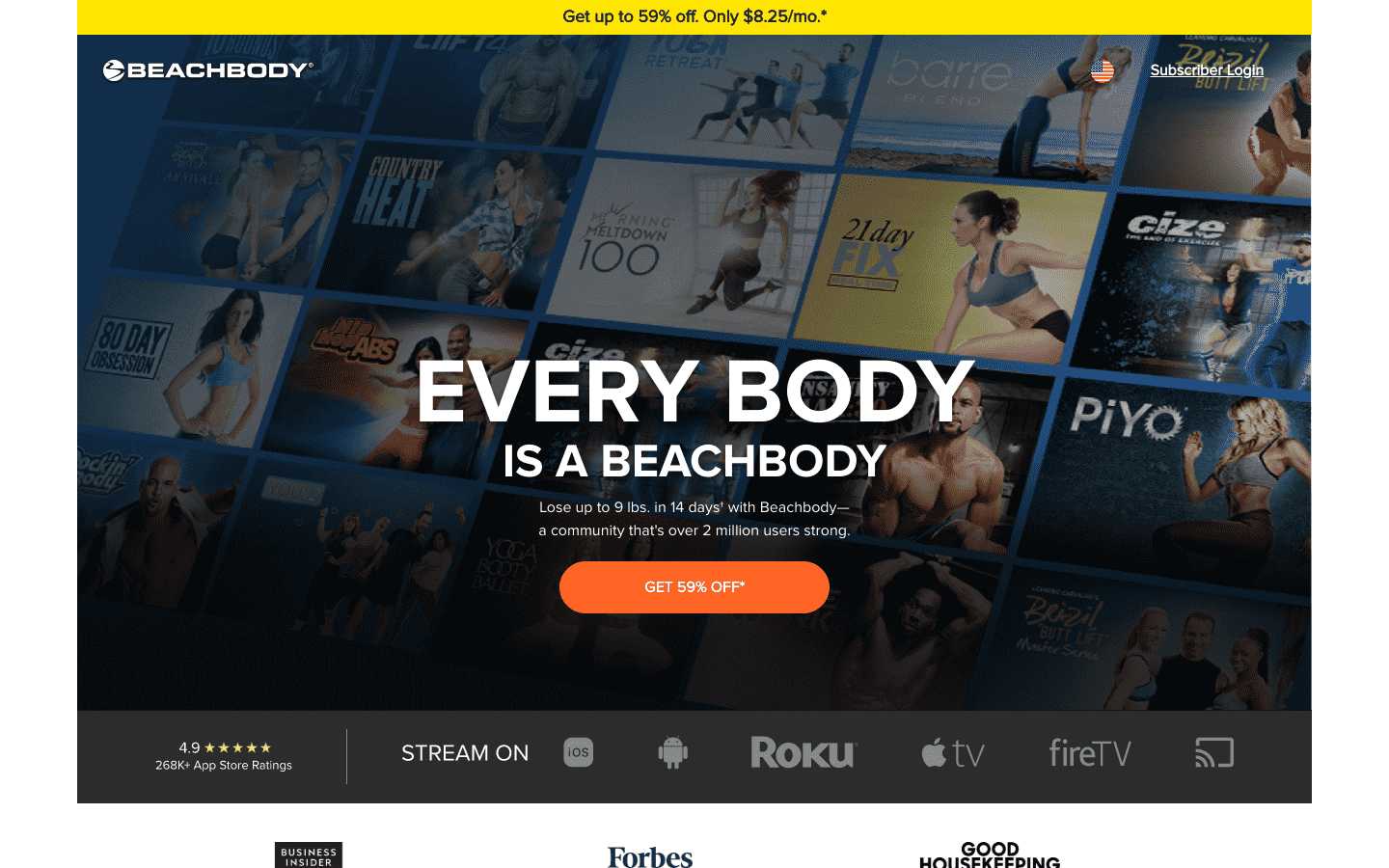Beachbody reviews and complaints