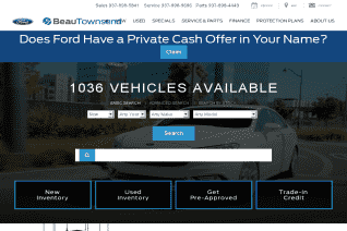 Beau Townsend Ford Lincoln reviews and complaints