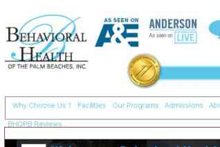 Behavioral Health of the Palm Beaches reviews and complaints
