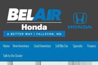 Bel Air Honda reviews and complaints