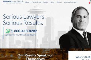 Bernard Law Group reviews and complaints