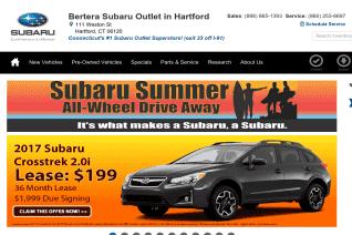 Bertera Subaru Outlet reviews and complaints
