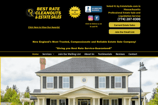 Best Rate Cleanouts and Estate Sales reviews and complaints