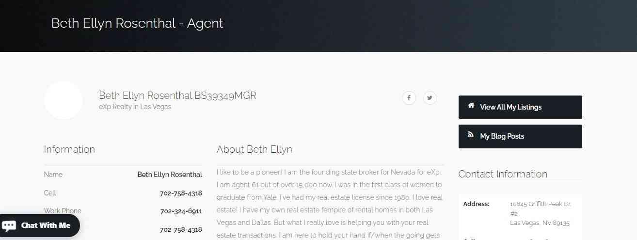 Beth Ellen Rosenthal reviews and complaints
