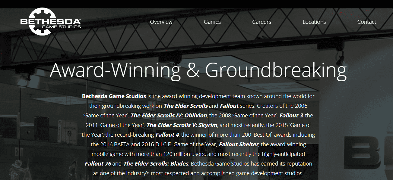 Bethesda Game Studios reviews and complaints