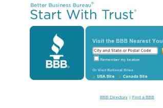 Better Business Bureau reviews and complaints