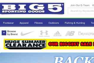 Big 5 Sporting Goods reviews and complaints