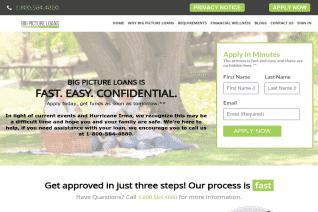 Big Picture Loans reviews and complaints