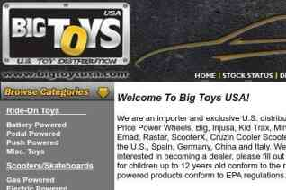 Big Toys Usa reviews and complaints