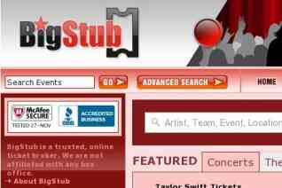 Bigstub reviews and complaints