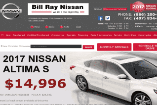 Bill Ray Nissan reviews and complaints