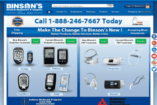 Binsons Medical Equipment And Supplies reviews and complaints