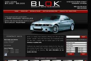 Blok Charity Auto Clearance reviews and complaints