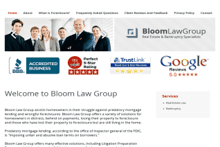Bloom Law Group reviews and complaints