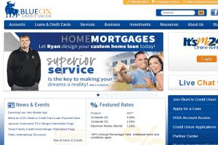 BlueOx Credit Union reviews and complaints