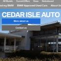BMW Cedar Isle Auto reviews and complaints