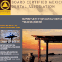 BOARD CERTIFIED MEXICO DENTAL ASSOCIATION reviews and complaints