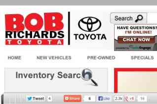 Bob Richards Toyota reviews and complaints