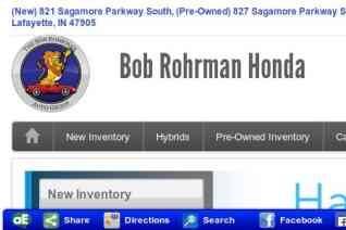 Bob Rohrmans Honda reviews and complaints