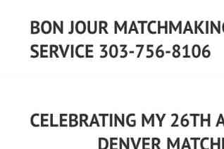 Bon Jour Matchmaking Service reviews and complaints