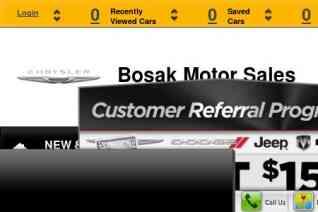 Bosak Motors reviews and complaints