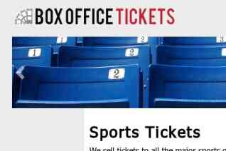Box Office Tickets reviews and complaints