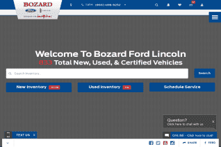 Bozard Ford Lincoln reviews and complaints