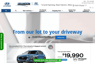 Brandon Hyundai reviews and complaints