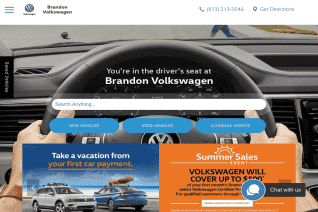 Brandon Volkswagen reviews and complaints