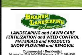 Branum Landscaping reviews and complaints