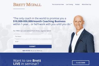 Brett McFall reviews and complaints