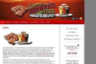 Brewers Pizza reviews and complaints
