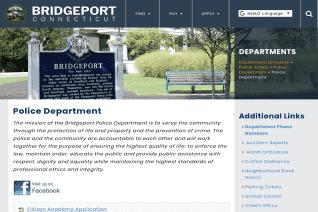 Bridgeport Police Department reviews and complaints