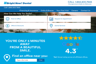 Bright Now Dental reviews and complaints