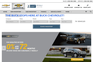 Buck Chevrolet reviews and complaints