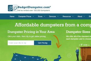 Budget Dumpster reviews and complaints