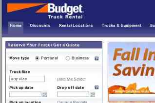 Budget Truck Rental reviews and complaints