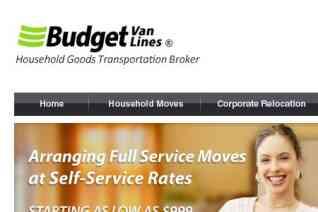 Budget Van Lines reviews and complaints